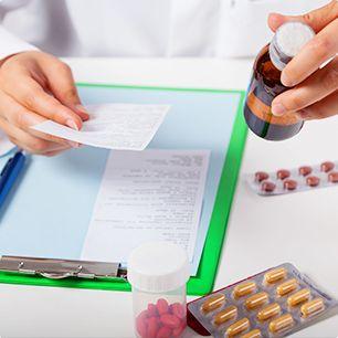 Ordonnance et médicament